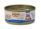 Мнямс 70 гр./Консервы для кошек Тунец с анчоусами в желе