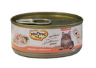 Мнямс 70 гр./Консервы для кошек Курица с лососем в желе