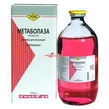 Метаболаза 500 мл./Препарат для нормализации обмена веществ у животных, перенесших тяжелые физические нагрузки