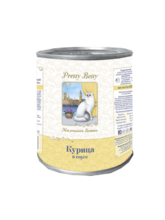 Pretty Betty//Миленькая Бетти консервы для кошек с курицей в соусе 415 г