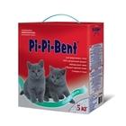 Pi-Pi-Bent 5 кг./Наполнитель комкующийся для котят коробка