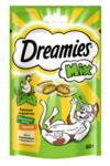 Dreamies 60 гр./Дримисиз лакомые подушечки для кошек курица с мятой