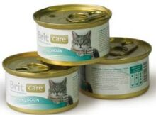 Brit Care 80 гр./Брит Каре консервы для котят с цыпленком 80 г