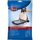 TRIXIE Пакеты уборочные для кошачьих туалетов XL 56*71 см. 10 шт./4051/