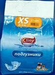 Cliny//подгузники для собак и кошек XS 2-4кг 11шт