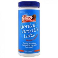 8in1 Dental Breath tabs//средство для собак для профилактики кариеса и от запаха из пасти 200 таб