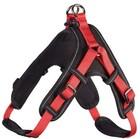 Шлейка Hunter для собак Neopren Vario Quick M (55-70)/1,5 см нейлон/неопрен красный/черный/64214