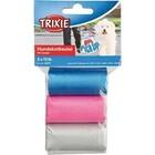 TRIXIE Пакеты для уборки за собаками 3 л. 3 рулона по 15 шт. цветные для всех диспенсеров/22845/