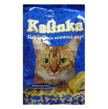 Kalinka//сухой корм для взрослых кошек с рыбой 400 г