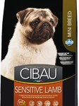 Farmina Cibau Sensitive Lamb Mini 2,5 кг./Фармина Сибау Полнорационное и сбалансированное питание для взрослых собак мелких пород с чувствительным пищеварением и аллергией.