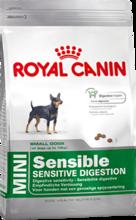Royal Canin Mini Sensible//сухой корм для собак мелких размеров с чувствительным пищеварением 800 г