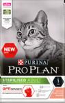 Pro Plan Sterilised 3 кг./Проплан сухой корм для для стерилизованных кошек (для поддержания органов чувств), с лососем
