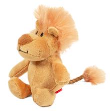 GiGwi/ГиГви Игрушка для собак Лев с пищалкой/75103/