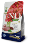 Farmina N&D Cat Quinoa Digestion Lamb 300 гр./Фармина сухой беззерновой корм для кошек Ягненок, киноа, фенхель и мята