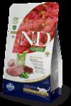 Farmina N&D Cat Quinoa Digestion Lamb 1,5 кг./Фармина сухой беззерновой корм для кошек Ягненок, киноа, фенхель и мята