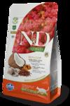 Farmina N&D Cat Quinoa Skin&coat Herring 300 гр./Фармина сухой беззерновой корм для кошек Сельдь, киноа, кокос и куркума