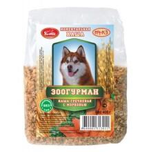 Зоогурман 400 гр./Каша гречневая с морковью