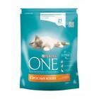 One Adult 200 гр./Ван Сухой корм для взрослых кошек курица и цельные злаки