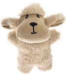 HOMEPET Игрушка для собак овечка плюш с пищалкой 14*11 см. (71108)