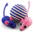 TRIOL Игрушка для кошек набор/ 2мяча+мыши/7007/22181055