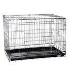 №1 /Клетка  для домашних животных 93*57*64 хром/ДКс043