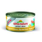 Консервы для кошек Almo Nature Legend 70 гр., Курица и сыр (75% мяса)
