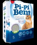 Pi-Pi-Bent Deluxe Clean Cotton 5 кг./Наполнитель для кошек комкующийся