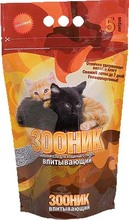 Зооник 5 л./Наполнитель для кошек Впитывающий