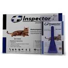Inspector//капли для кошек до 4 кг от внешних и внутренних паразитов