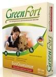 Green Fort//ОшейникБио для собак крупных пород от блох 80 см