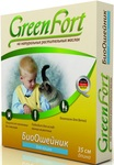 Green Fort//ОшейникБио для кошек от блох 35 см