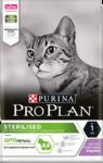 Pro Plan Sterilised 1,5 кг./Проплан сухой корм для поддержания здоровья стерилизованных кошек с индейкой