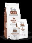 Brit Care Weight Loss Rabbit & Rice 1 кг./Брит Каре сухой корм для собак с избыточным весом, с кроликом и рисом