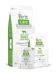 Brit Care Grain-free Adult Large Breed Salmon & Potato  1 кг./Брит Каре сухой корм для взрослых собак крупных пород Беззерновая формула с лососем и картофелем