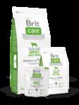 Brit Care Grain-free Adult Large Breed Salmon & Potato  3 кг./Брит Каре сухой корм для взрослых собак крупных пород Беззерновая формула с лососем и картофелем