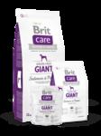 Brit Care Grain-free Giant Salmon & Potato  1 кг./Брит Каре сухой корм для взрослых собак крупных пород Беззерновая формула с лососем и картофелем
