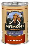 Мамонт Стандарт 970 гр./ Ягненок влажный корм для собак