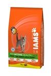 Iams ProActive Health Adult 300 г//Ямс сухой корм для кошек с ягненком