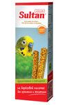 Sultan 2 шт./Султан Палочки фруктовые с овощами для попугаев и декоративных птиц