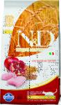 Farmina N&D Low Grain Cat Chicken & Pomegranate 300 гр./Фамина сухой беззерновой  корм для кошек курица с гранатом для стерил и кастр