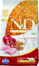 Farmina N&D Low Grain Cat Chicken & Pomegranate 1,5 кг../Фамина сухой беззерновой  корм для кошек курица с гранатом для стерил и кастр