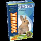 """Зооник 400 гр./Зерносмесь для кроликов  """"Основной рацион"""" Премиум"""