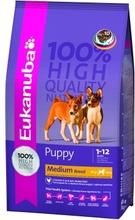 Eukanuba Dog Puppy 1кг//Эукануба сухой корм для щенков средних пород