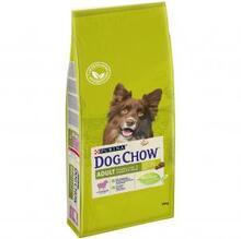 Dog Chow Adult 14 кг./Дог Чау сухой корм для взрослых собак с ягненком