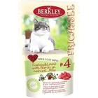Berkley 100 гр./Беркли Консервы для кошек Индейка с ягненком и ягодами №4