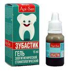 Зубастик//гель стоматологический 15 мл