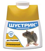Шустрик//шампунь дезодорирующий для грызунов 100 мл