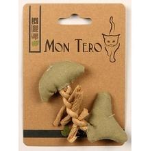 МОН ТЕРО ЭКО игрушка для кошек рыбья кость с кошачьей мятой фиолетовая 11 см.(51461)