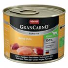 Animonda GranCarno Sensitiv 400 гр./Анимонда консервы для собак с чувствительным пищеварением с индейкой