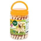 TRIOL /Крученые палочки с уткой для собак 340гр(банка)10171046